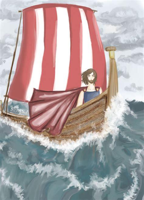 dessin bateau d ulysse 3lda freya