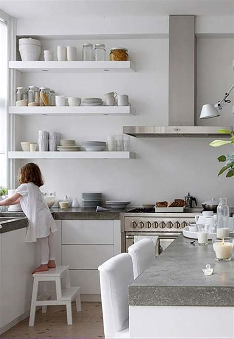 ikea open shelving 7 kitchens with open shelving like fresh laundry