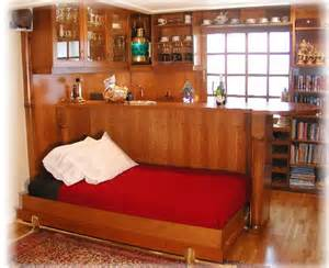 bar bed houseboat furniture murphy bed