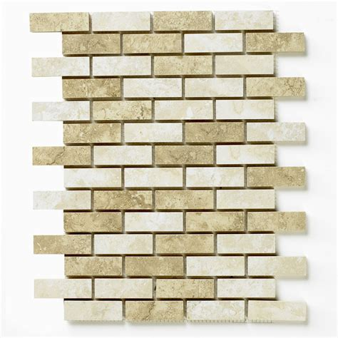 bct tiles 1 capri meshed brick mosaic ceramic matt wall tile 285x318mm capmebrm at