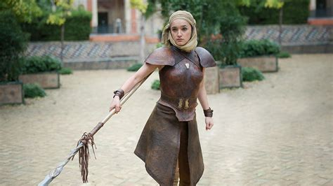 game of thrones obara sand actress obara sand s spear the most badass weapons on game of