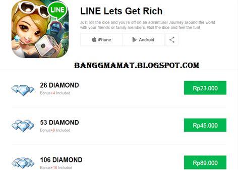 cara mengubah kuota game line get s rich menjadi reguler cara membeli diamonds let s get rich pada line store
