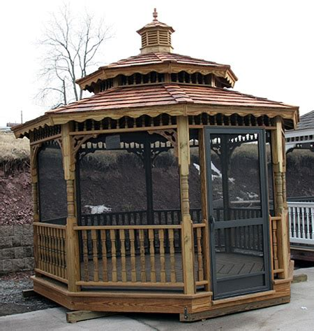 screened gazebo kits screened gazebo kits