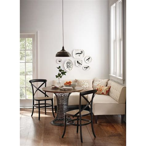 Decorators Home Collection Home Decorators Collection Easton Beige Linen Breakfast Nook 2168900810 The Home Depot