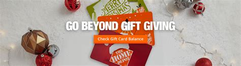 Check Home Depot Gift Card - home depot gift cards