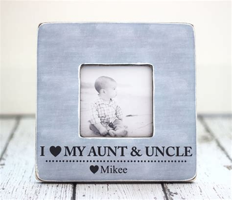 find anniversary gifts for your aunt and uncle aunt uncle gift personalized picture frame auntie uncle from
