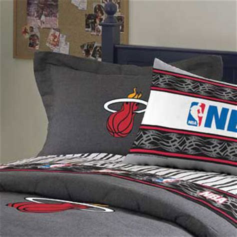 miami heat bedroom miami heat team denim pillow sham