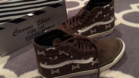 Vans Sk8 Hi Wtaps Crossbones shoe review vans vault x wtaps bones sk8 hi lx olive