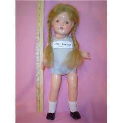 8 inch composition doll composition 16 inch doll black shoes