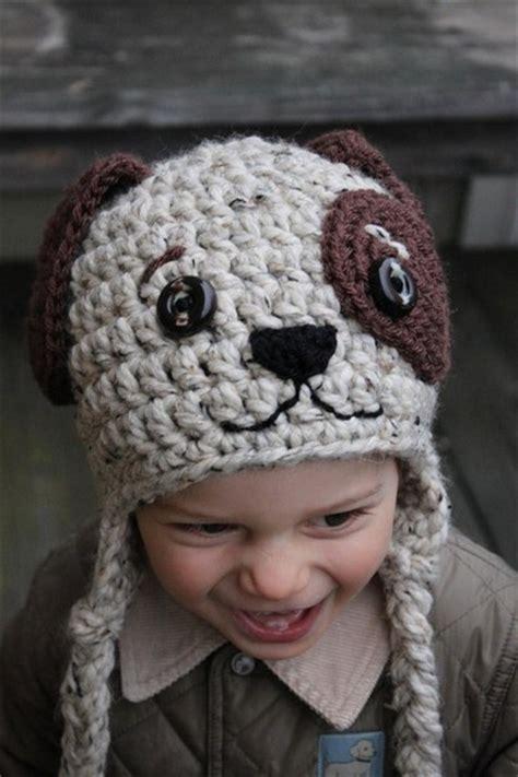 crochet puppy hat crochet hat creatys for