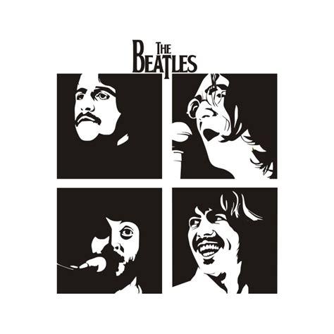 Kaos The Beatles Logo Stencil products page 37 vinyl sa