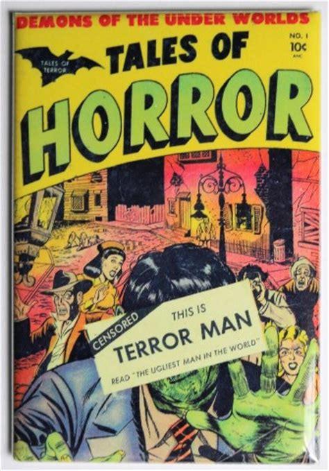 tales  horror   terror man fridge magnet monster