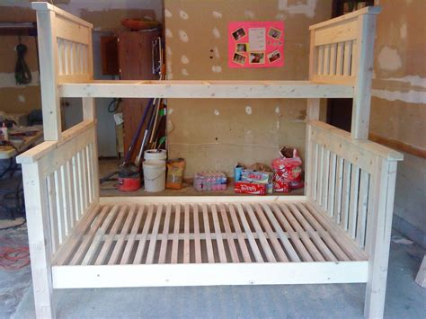 do it yourself bunk beds twin over full bunkbed do it yourself home projects from