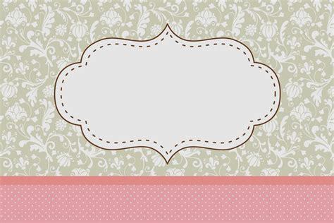 imagenes vintage hd gratis provenzal en rosa y gris invitaciones para imprimir
