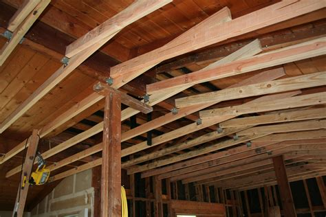 How To Build Ceiling Joists by 187 Week 3 Up Ceiling Joists And Floor Heating