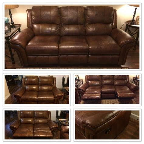 cognac leather reclining sofa havertys payton cognac leather reclining sofa loveseat