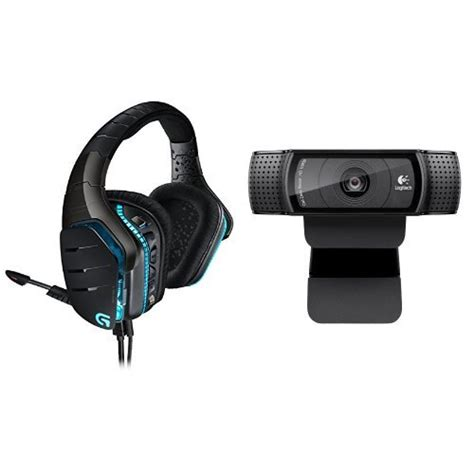 Headset Logitech G633 logitech g633 gaming headset logitech hd pro c920 bundle b016l555es