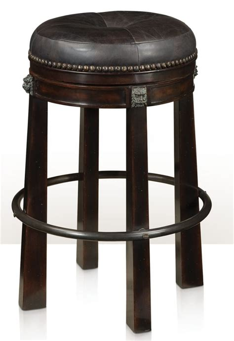 luxury bar stools leather leather bar stool