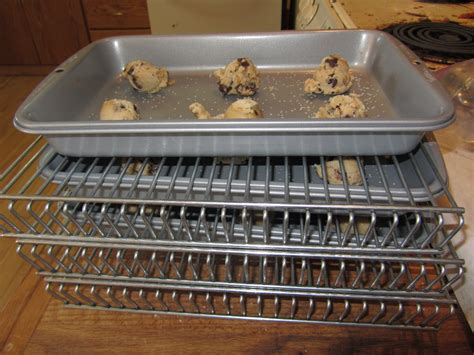 Oven Dehydrator Racks by Cooking With Food Storage Chocolate Chip Cookies Baked