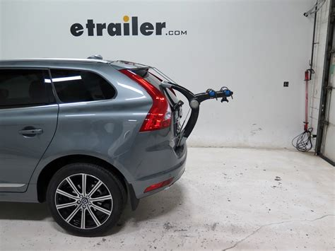 volvo xc60 bike rack volvo xc60 thule raceway pro 2 bike rack trunk mount