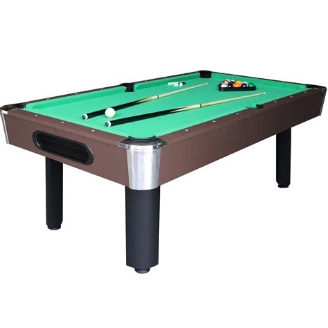 sportcraft 7 green billiard table w table tennis top