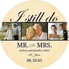 Beautiful Love 50th Anniversary Invitation   Couple's Two