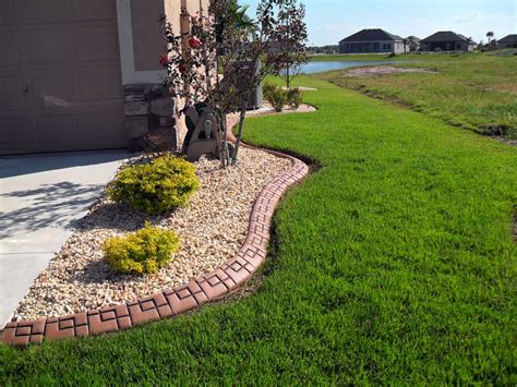 Concrete Landscape Borders Central Florida Edging Orlando Landscape Curbing