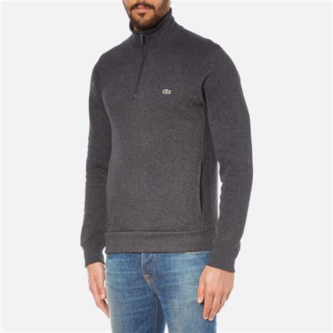 Kaos Kerah Polo Shirt Lacoste Normal Size Hig Kualitas 1 lacoste s half zip high collar sweatshirt grey jaspe free uk delivery 163 50