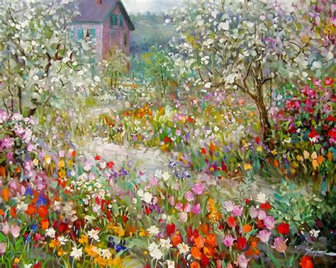 libro painting the modern garden amoreternal tinyan chan paintings