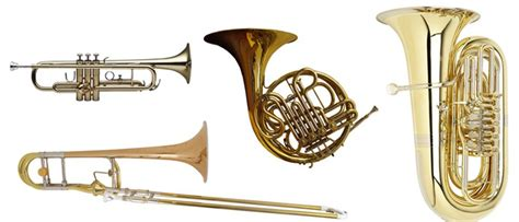 brass section instruments the brass section horns trumpets trombones tuba