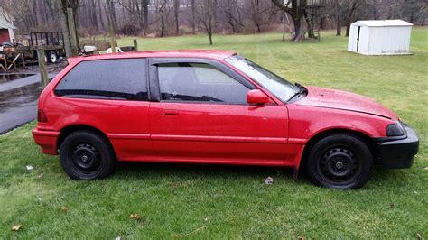 vintage honda civic 91 honda civic hatchback project car or parts car