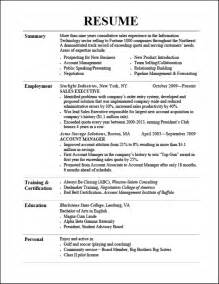 examples of resumes picture resume good and bad formats