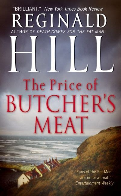 The Price Of Butcher S the price of butcher s reginald hill paperback