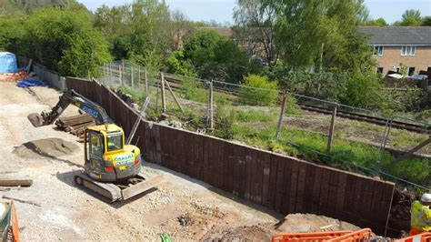 Sleepers Nottingham by Nottingham Azobe Railway Sleeper Wall