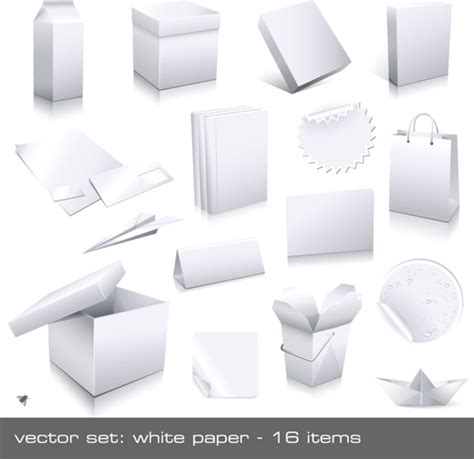 blank packaging templates different blank packaging design vector set 05 vector other free