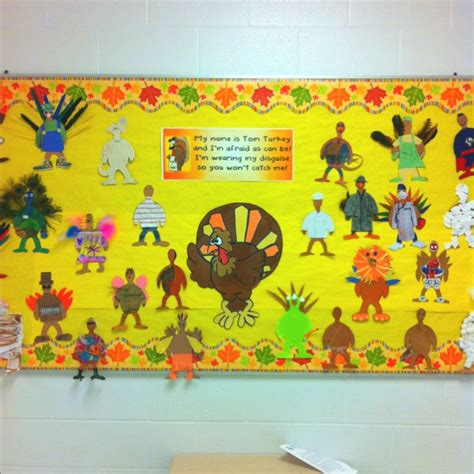 printable turkey for bulletin board 17 best images about disguise a turkey on pinterest