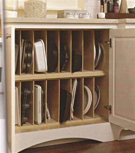 Cooking Pan Storage Vertical Pan Storage In Kitchen This Should Be Standard