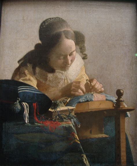 the lacemaker books the lacemaker johannes vermeer wikiart org