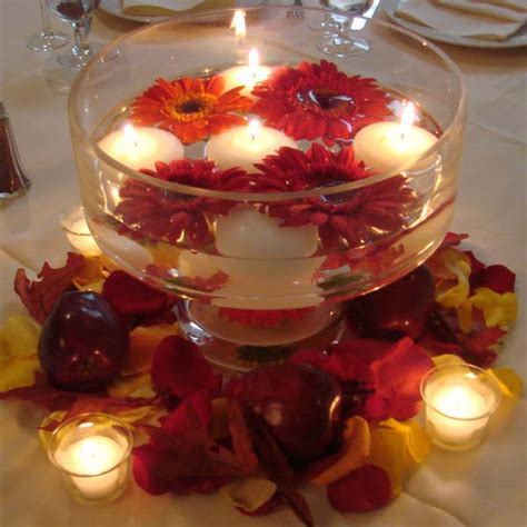 table centerpieces 20 candles centerpieces romantic table decorating ideas