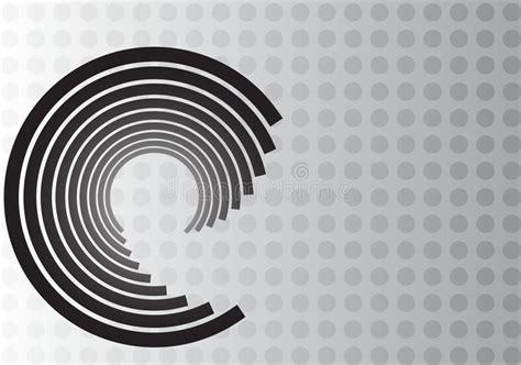 im genes de texto robot wallpapers vector negro fondos grises dise 241 o negro del remolino en fondo gris del punto stock de
