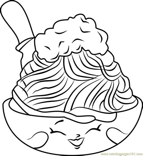pasta coloring page www pixshark com images galleries