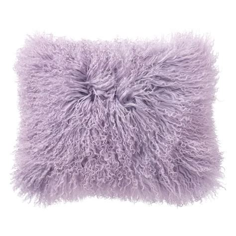 Fur Pillow Cover by Mongolian Fur Pillow Cover Pbteen