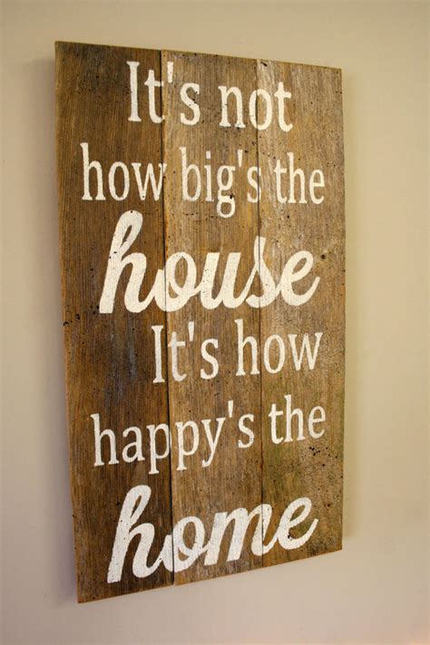 distressed wood home decor pallet sign reclaimed wood sign rustic home decor shabby