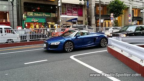 Audi Japan by Audi R8 Spotted In Tokyo Japan On 08 20 2014