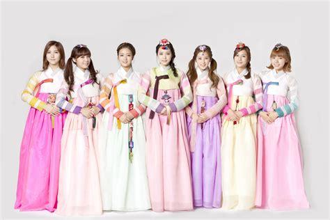Apink female kpop idols and groups in hanbok kpopmusic com