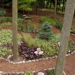 Serene backyard no grass no mowing great landscape pinterest