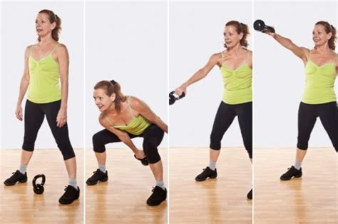 one handed kettlebell swing undo the damage with this post binge workout top me