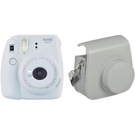 Fujifilm Instax Mini 9 Smoky White fujifilm instax mini 9 instant with kit b h