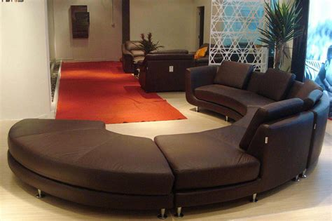 round sofas for sale extraordinary model of round leather couch s3net