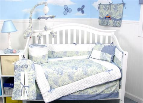 blue toile crib bedding blue toile crib bedding bunny blue harrison toile crib
